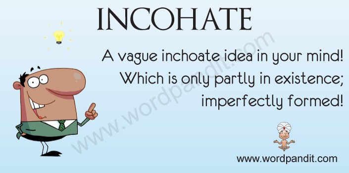 inchoate offenses Inchoate definition, not yet completed or fully developed rudimentary see more.