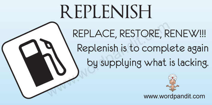 Image result for Replenish