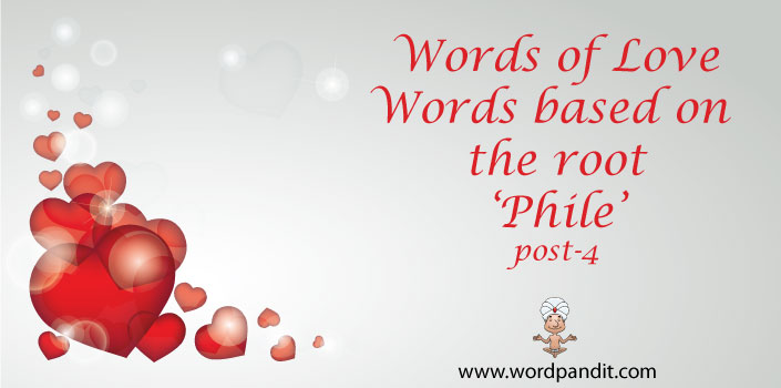 words based on the root phile
