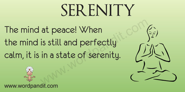 serenity name meaning urban dictionary