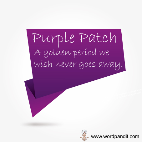 what is a purple patch and purple passage?