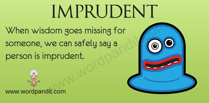 Picture for Imprudent