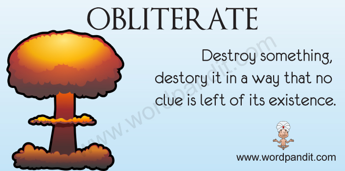 Picture for obliterate