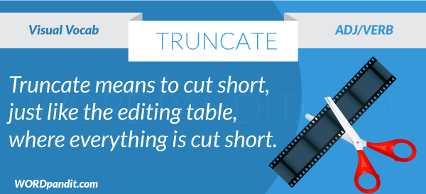 picture for truncate