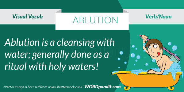 picture for Ablution