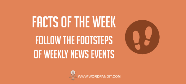 Weekly GK Current Affairs, March 15 to 21, 2016