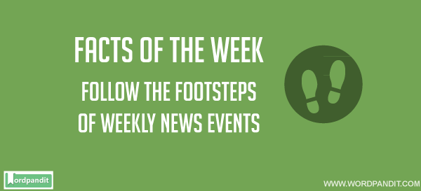 Weekly GK Current Affairs, June 9 to 15, 2016