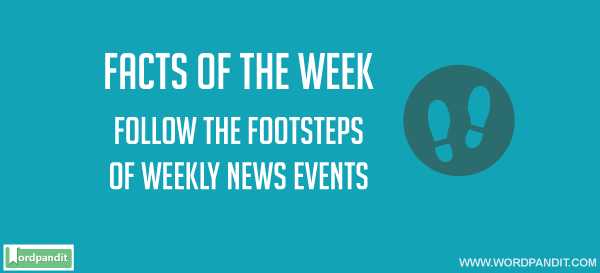 Weekly GK Current Affairs, February 1 to 7, 2016
