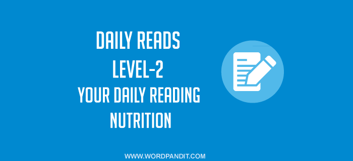 Daily Reads-7 (Level-2)
