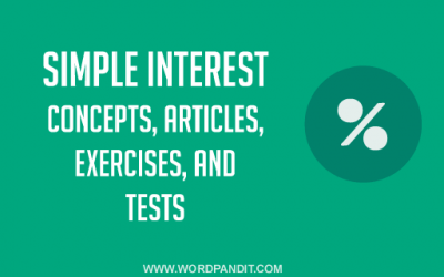 Simple Interest: Tips, Tricks & Results Exercise-1
